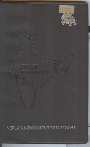 Pocket Road Atlas of India 1980 FIRST EDITION - TPT Tamilnad Verlag Indoculture