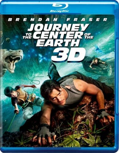 Journey to the Center of the Earth (Brendan Fraser) New 3D + Region B Blu-ray