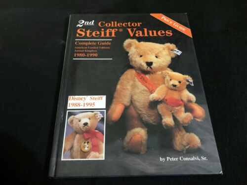 VINTAGE PRICE COLLECTORS GUIDE book - 1996 STEIFF BEARS