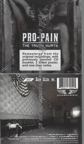 CD--PRO-PAIN--THE TRUTH HURTS -RE-RELEASE-
