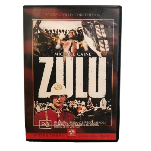 ZULU DVD Special Collectors Edition Michael Caine EUC Region 4 Free Postage