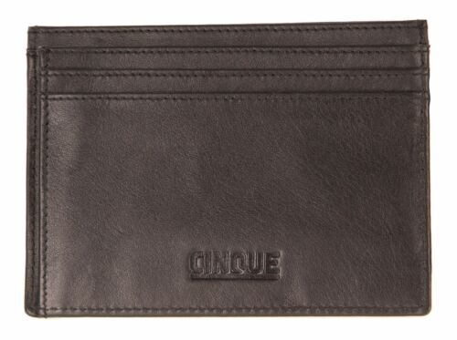 CINQUE Credit Card Holder Mina Black