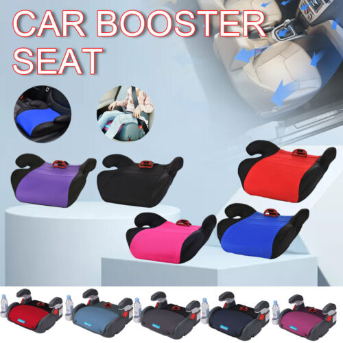Child Car Booster Seat Safety Chair Cushion Pad For Toddler Children Kids Sturdy