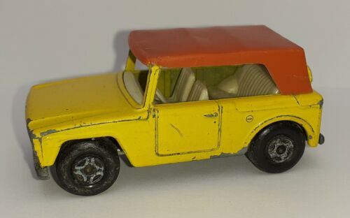 Voiture Miniature Matchbox Superfast Field Car Vintage 1969 B-9 no Corgi