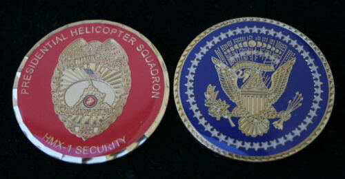 # HMX-1 US MARINES PRESIDENT MP CHALLENGE COIN SECURITY PRESIDENTIAL MARINE ONEMarine Corps - 66531