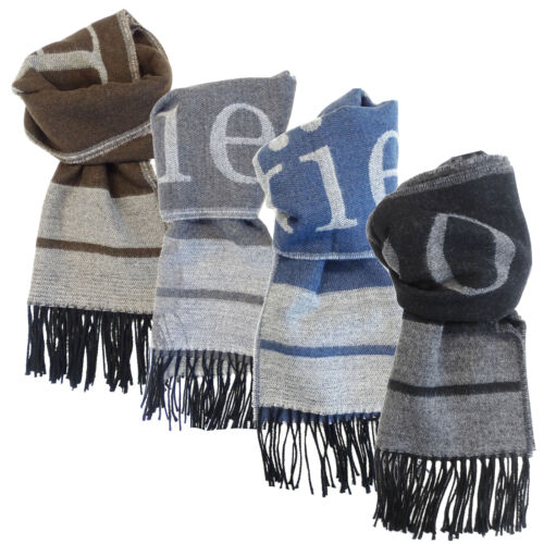 Sciarpa Brooksfield uomo Made in Italy logo BRK100SCARF02