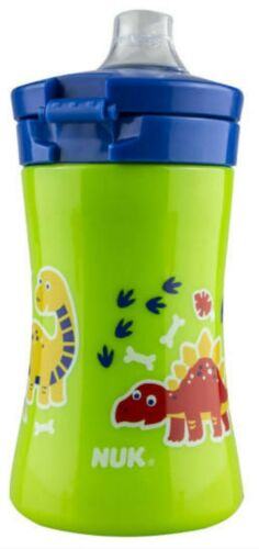 NUK FUN COLLECTION 9+ Months One Piece Cup Green Dinosaurs