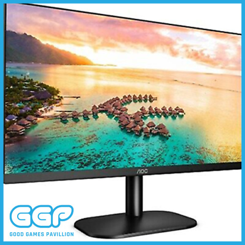 "AOC 24"" LED 24B2XH FHD 1080P 75HZ Frameless Gaming Monitor HDMI VGA IPS VESA"