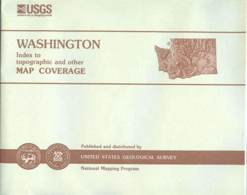 USGS State Index for Topographic Maps WASHINGTON - 1997 -