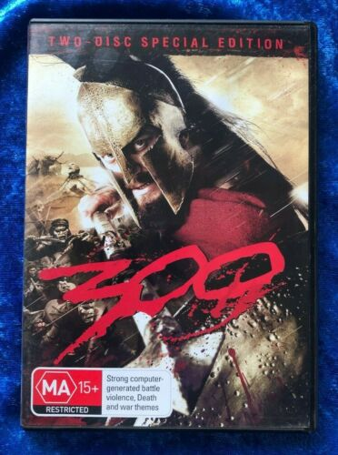 300 Special Edition 2 Disc Region 4 DVD Free Postage