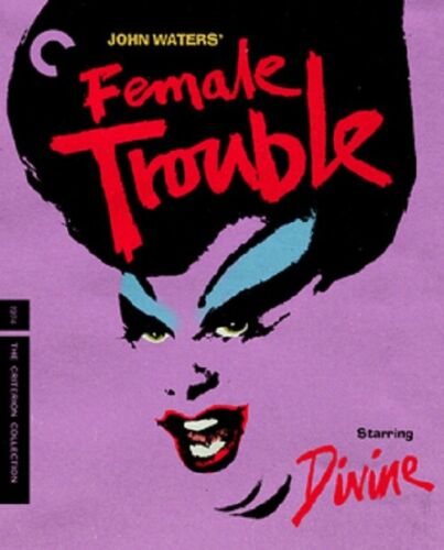 Female Trouble Criterion Collection (Divine Mink Stole) New Region B Blu-ray