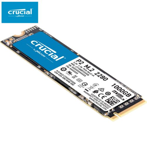 Crucial P1 1TB SSD M.2 PCIe NVME 3D NAND Internal Solid State Drive 2000MB/s NEW