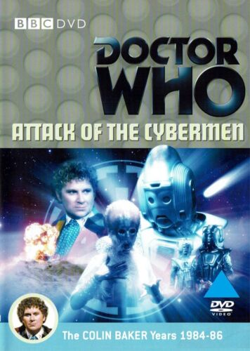 Doctor Who Attack of the Cybermen (Colin Baker, Nicola Bryant) New Region 4 DVD