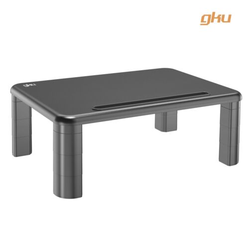 gku™ Height Adjustable Monitor Laptop Stand Riser AC1006BK
