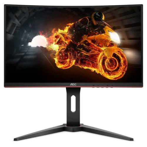 "AOC Gaming Monitor AMD FreeSync C24G1 24"" 144Hz  FHD LED LCD Curved 1MS HDMI VA"
