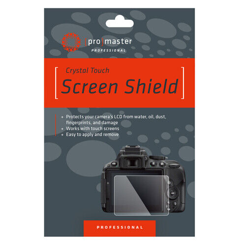 Promaster 1704 Glass Screen Shield For Panasonic DCG9 GX85 G85 LX15 Etc.  QDR26 <br/> Roberts Camera - Photo Industry Leader since 1957!