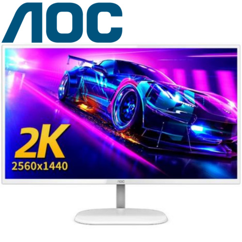 AOC 32'' Gaming Monitor V3 Q32V3/WS QHD Computer LED 75Hz 2560X1440 HDMI DP