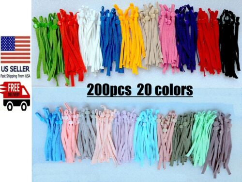Diy Mask Sewing Elastic Band With Adjustable Buckle For Face Mask 15 Colors.