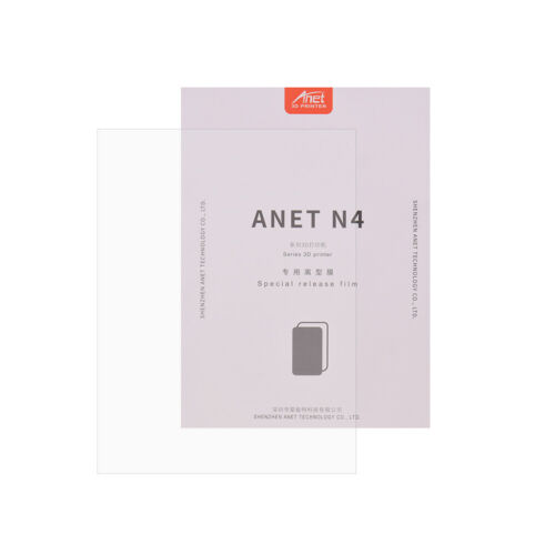 Anet Release Film Professional FEP Film Sheet Transparent Size 200*150mm I3P7