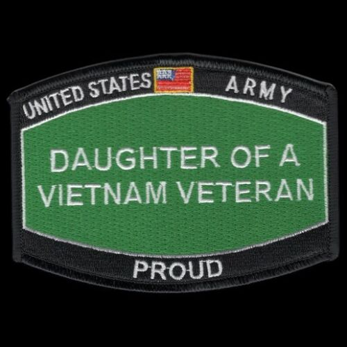 Army Daughter Of A Vietnam Veteran  HAT PATCH HAT Patch US MARINES PIN UP CBRN Marine Corps - 66531