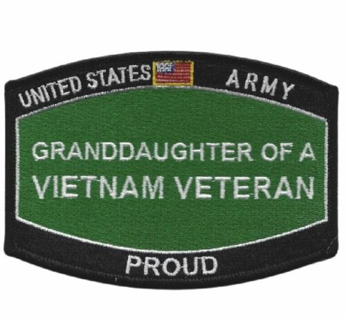 Army Grand-Daughter Of A Vietnam Veteran HAT PATCH HAT Patch US MARINES PIN UP Marine Corps - 66531