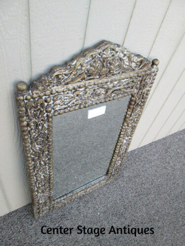 58077 Tall Decorator Carved Mirror in Fancy Picture Frame