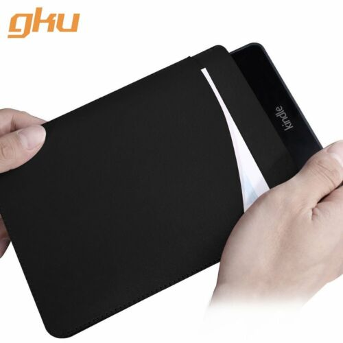 EziCarry by gku™ 6 Inch Kindle Sleeve Protective Pouch Bag PU Leather Case