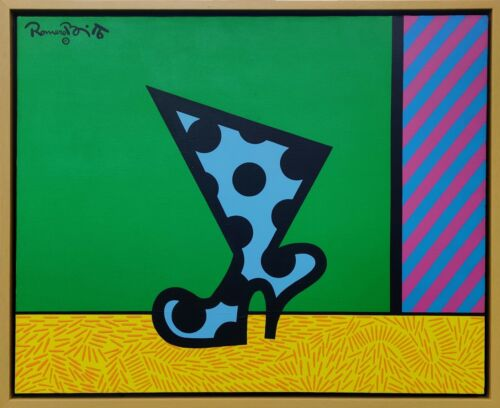 """ROMERO BRITTO """"THE BOOT"""" 1990 