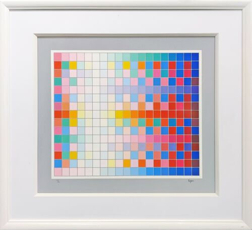 """YAACOV AGAM """"NEW LANDSCAPE"""" 