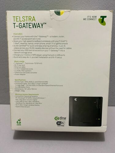 Telstra T-Gateway technicolor TG797n v3 Modem Router