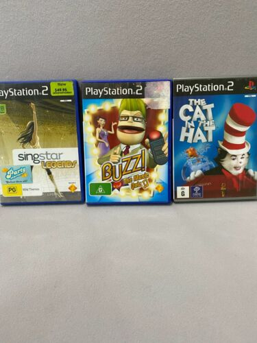 Playstation 2 PS2 Games List * Aussie Seller* Select from Drop down Box