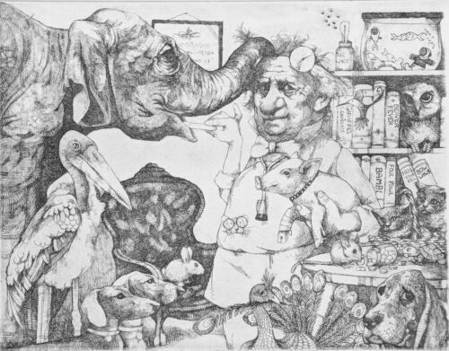 """CHARLES BRAGG """"VETERINARIAN"""" 
