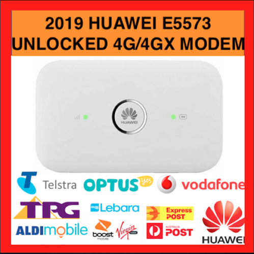 Huawei E5573 4G 4Gx Unlocked Portable Mobile Wi-Fi Modem Updated Model Hotspot