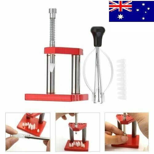 Watch Hand Presto Presser Fitting Repair Tools Lifter Puller Plunger Remover set