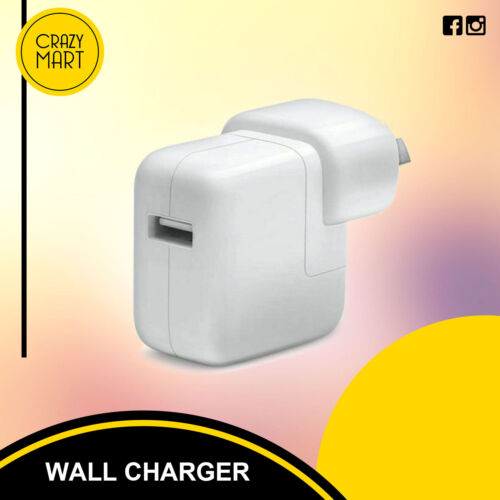 Wall Charger 12w Oval Shaped For Apple iPad Pro Grade AAA Highly Certified