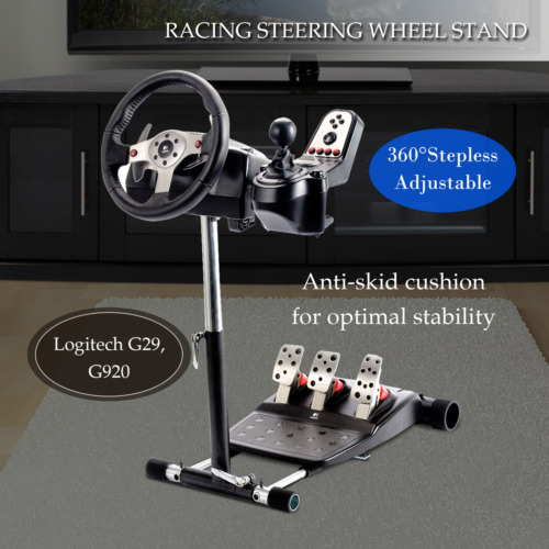 Height Adjustable Racing Steering Wheel Stand for Logitech G27,G29,G25,G920