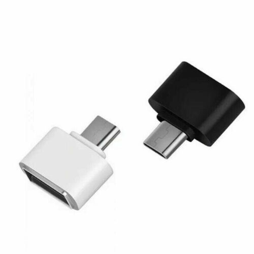 2 X Type C Usb-c Usb 3.1 Male To Usb Female Otg Data Adapter For Phone Tablet