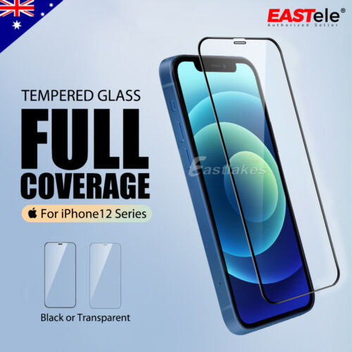 For Apple iPhone 12 Pro Max 12 Mini 11 Pro Max Tempered Glass Screen Protector