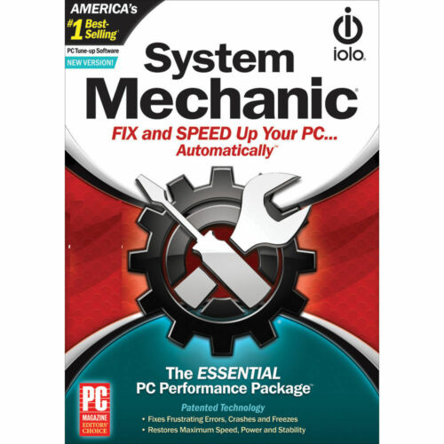 ioLo System Mechanic Latest Version (1 PC - 1 Year) Global Code (eDelivery)