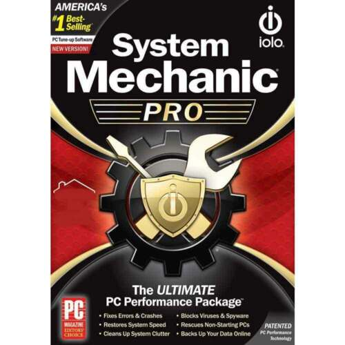 ioLo System Mechanic Pro (1 PC - 1 Year) Global Code (e-Delivery)