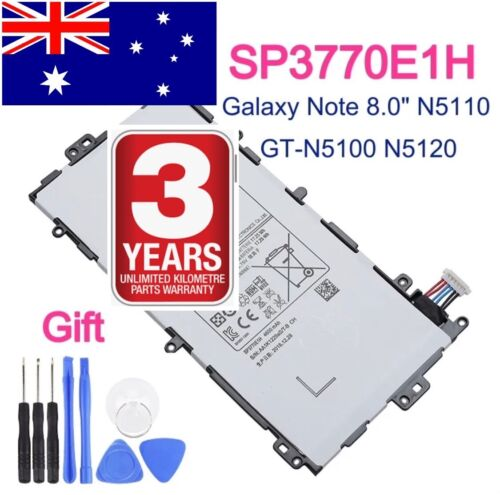 2020 Battery For Samsung Galaxy Note 8.0 GT-N5110 N5100 Tablet SP3770E1H + Tools