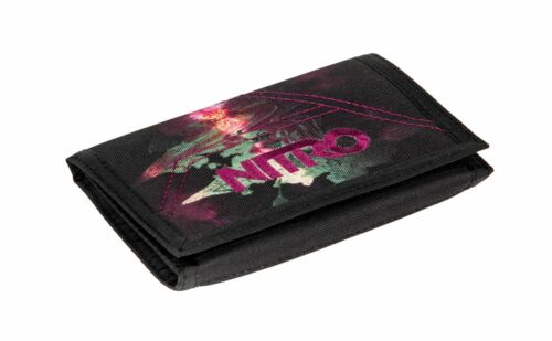 NITRO Daypacker Collection Wallet Black Rose