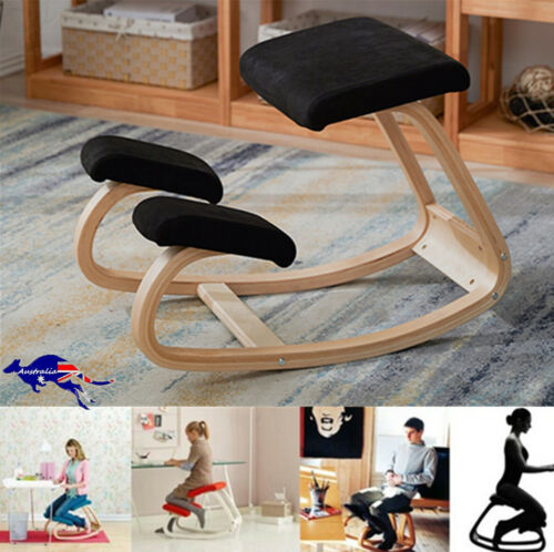 Ergonomic Posture Chair With Caster Designed Knee Chair Yoga Medical Office Seat