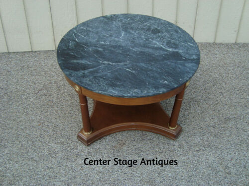 60337 BOMBAY Marble Top Coffee Table Stand