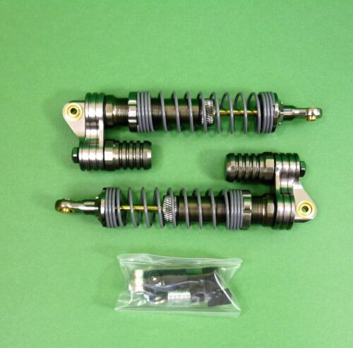 Alloy Piggyback Dampers - Shocks for Axial & other 1:10 RC rock crawlers
