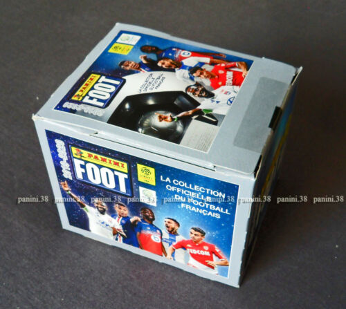 "ULTRA RARE !! BOX 50 Pochettes ""FRENCH FOOT 2019-2020"" packets PANINI DisplayStickers, albums, sets - 141755"