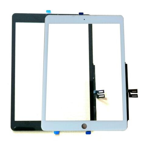 """New Digitizer Glass For iPad 7 7th Gen 2019 10.2"""" A2197 A2198 A2200 Black/White"""