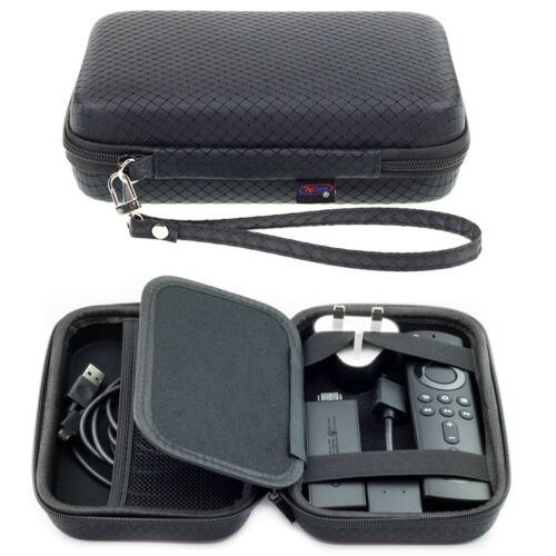 Hard Carry Case For Amazon Fire TV Stick 4K Remote Cable & Charger
