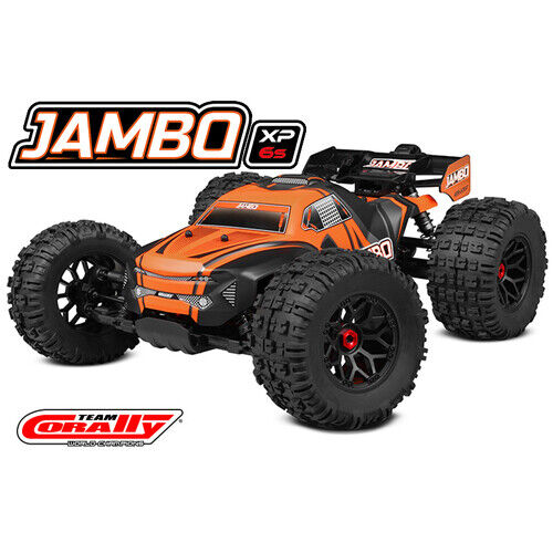 Team Corally - 2021 version  JAMBO XP 6S - 1/8 Monster Truck LWB - RTR - Brushle