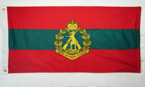 The Royal Australian Regiment (RAR) Unit Flag Other Eras, Wars - 135